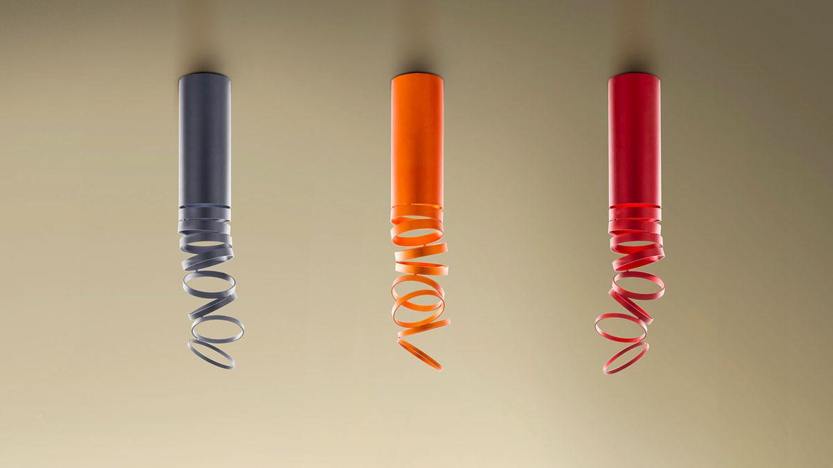 5 lampade a soffitto by artemide cignoli elettroforniture