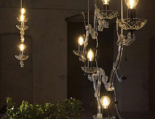 5 lampade a sospensione stilose di Karman