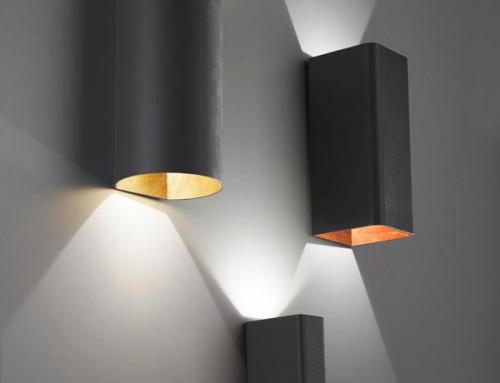 Canali di luce: 5 lampade da parete Zafferano Italia
